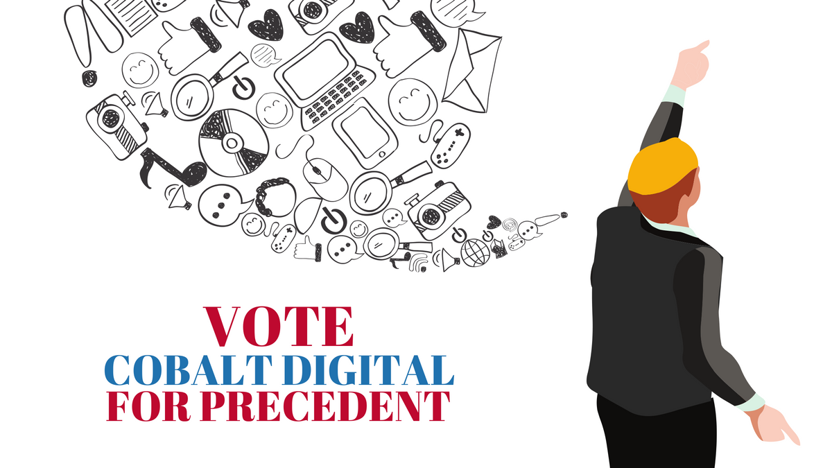 Vote Cobalt Digital Marketing for Precedent